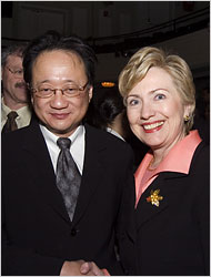 Clinton and Hu